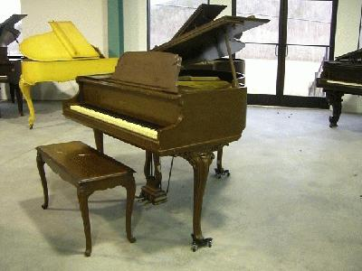 Whitney louis xv apartment size baby grand piano Size of baby grand piano