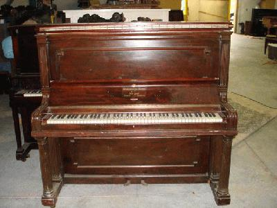 steinway full size upright piano. Black Bedroom Furniture Sets. Home Design Ideas